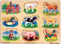 Sound Puzzle Farm Animals (8 piece)