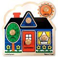 Jumbo Peg Puzzle First Shapes (5 piece)