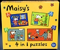 Maisys 4 in 1 Puzzles (12, 16, 20 & 24 piece)