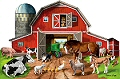 Busy Barn Yard Shaped Floor Puzzle (32 piece)