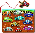 Magnetic Game Puzzle Tow Truck (10 piece)