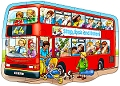Big Bus Shaped Floor Puzzle (15 piece)