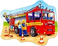 Big Fire Engine Shaped Floor Puzzle (20 piece)