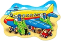 Big Aeroplane Shaped Floor Puzzle (30 piece)