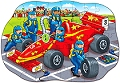 Big Racing Car Shaped Floor Puzzle (45 piece)