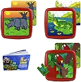 Washable Tray Puzzles Animals in Extinction 1 Set 3 (6, 12 & 25 Piece)