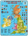 Card Puzzle Great Britain & Ireland