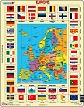 Card Puzzle Flags of Europe
