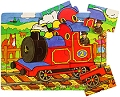 Tray Puzzle Train (9 piece)