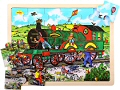 Tray Puzzle Train (24 piece)