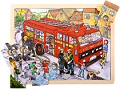 Tray Puzzle Fire Engine (24 Piece)