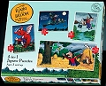 Room on the Broom 4 in 1 Puzzles (12, 16, 20 & 24 piece)