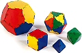 Polydron Platonic Solid Set (50 piece)