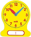 Teachers Dry-Wipe 12 Hour Demo Clock