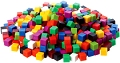 1cm Cubes Assorted Colours (Tub 1000)