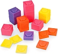 Stackable Plastic Weights Square in Bag (Set 80)