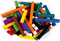 Plastic Cuisenaire/Number Rods Smooth (Bag 74)