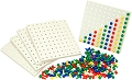 Pegs & Boards (Set 1000 pegs & 5 boards)