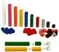 2cm Linking Cubes Assorted Colours (Set 500)