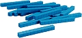 Non-Linking Base Ten Rods/Tens Blue (50 pieces)
