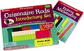 Plastic Cuisenaire Rods Smooth (Activity guide & 74 Rods)