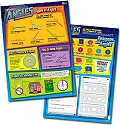 "Angles Double-Sided Laminated Dry-Wipe Chart 20"" x 28"""