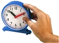 Pupils 12 Hour Synchronised Clock 11cm