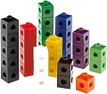 2cm Linking Cubes Assorted Colours (Set 100)