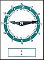 Pupils Dry-Wipe 24 Hour Clock Faces (Set 10)