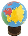 Globe of the World Parts