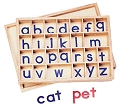 Small Movable Wooden Alphabet
