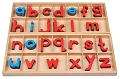 Large Movable Wooden Alphabet