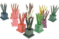 Set of 11 Pencil Holders