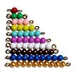 Coloured Bead Stairs 1-9